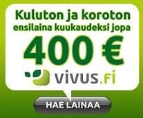 5000 euro laina